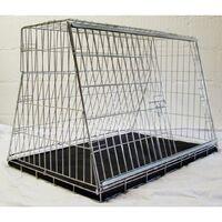 "Pet World car dog cage travel safety guard hatchback 38"" - 975(w)x680(h)x655(d)mm"