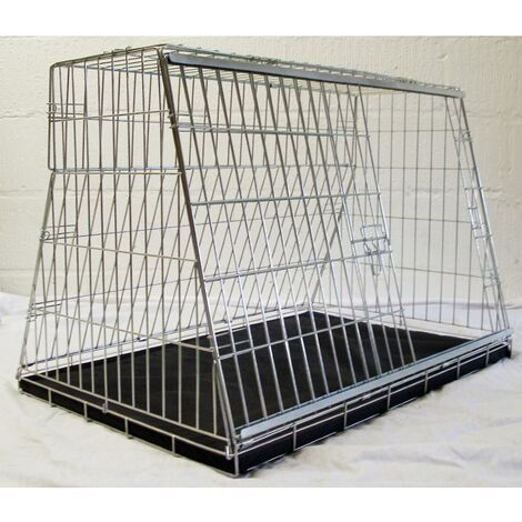 Pet World CDC38 Hatchback Car Dog Cage Crate Pet Travel Guard (97x66x67cm)