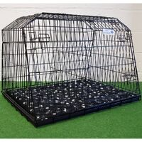 Pet World estate & 4x4 space saver sloping car dog puppy cage boot travel crate 38LL - 960(w)x710(h)x875(d)mm