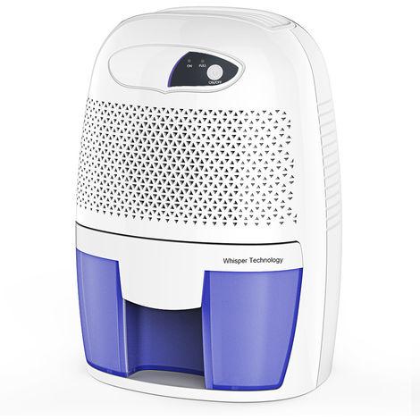 Petit déshumidificateur intelligent avec arrêt automatique - extrait silencieusement l'humidité