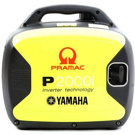 Petit Générateur électrique inverter silencieux YAMAHA Pramac P2000i 2,0 Kw