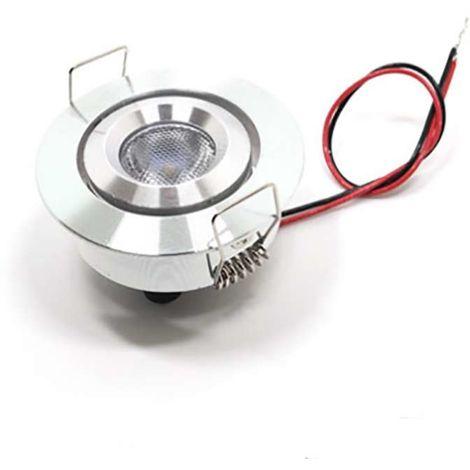 Petit spot LED encastrable 3W équivalent 30W 12-24V