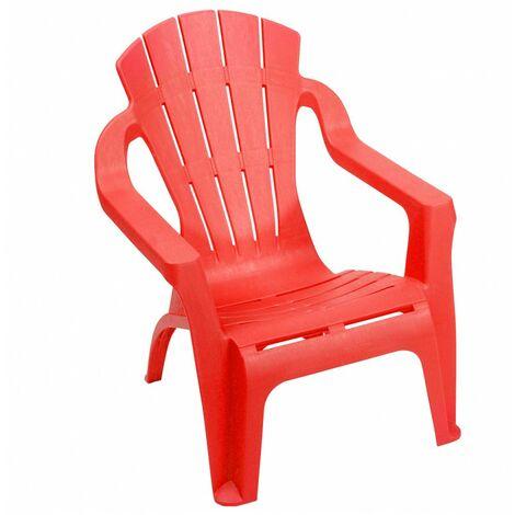 """main image of """"Petite chaise pour enfant Selva - L 38 x l 36 x H 44 cm - Orange - Livraison gratuite"""""""