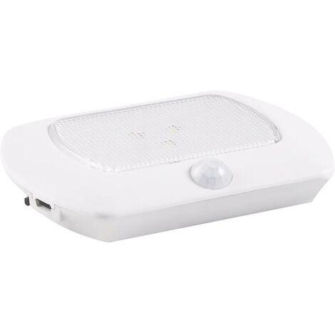 Petite lampe portable avec détecteur de mouvements Müller Licht Mobina Sensor 27700027 Ampoule LED blanc 1 pc(s)