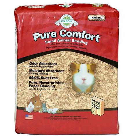 Petlife International Oxbow Pure Comfort Small Animal Bedding (8.2 Litres) (Natural)