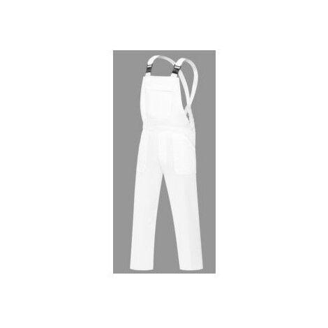 Peto Trabajo T42 Elastico Poliester/Algodon Blanco L500