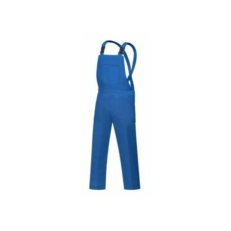 Peto Trabajo T50 Elastico Poliester/Algodon Azul L500