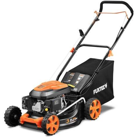 "main image of ""Petrol 146cc push lawnmower 18inch cutting width FUXTEC RM4646ECO"""