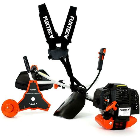 """main image of """"Petrol 2in1 Garden Power Tool - Motor Scythe - Lawn Trimmer - Grass Trimmer - Brush Cutter - incl. """"Comfort"""" Carrying Strap FUXTEC FX-MS152"""""""