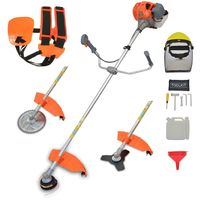 Petrol Brushcutter 52cc 3 in 1 with Harness and Safety Helmet