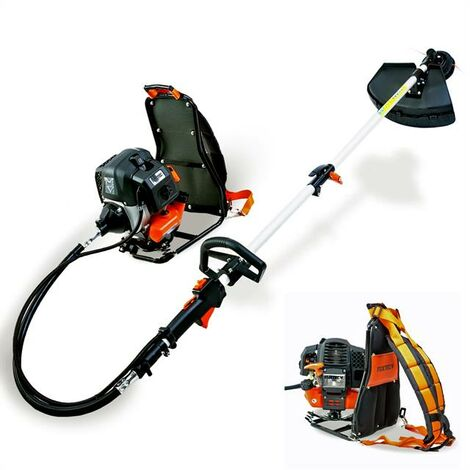 """main image of """"Petrol FUXTEC backpack brush cutter/grass trimmer 2-stroke-3HP-52cc- FX-MS152T"""""""