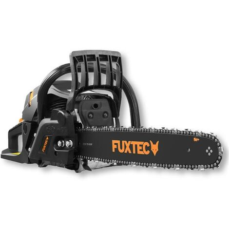 "main image of ""Petrol FUXTEC chainsaw - 54cc - 2.3kW - The FX-KS255 Black Edition"""