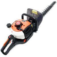 Petrol Garden Tool Hedge Trimmer 25.4cc 750 Watt Cutting Length 650mm Brushcutter