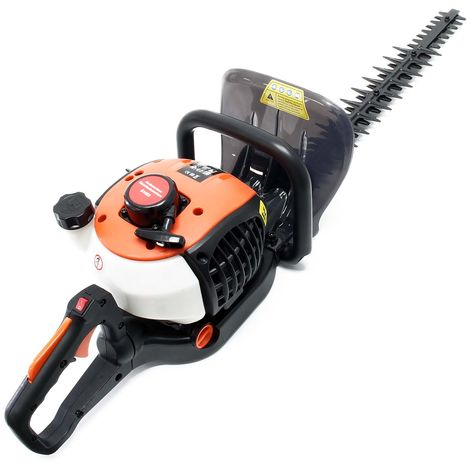 Petrol Garden Tool Hedge Trimmer with 25.4cc, 750 Watt and a Cutting Length of 650mm Brushcutter