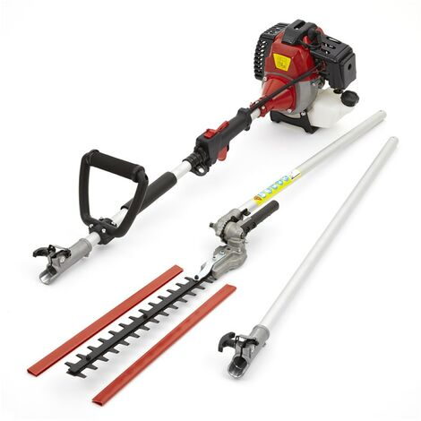 Petrol Long Reach Hedge Trimmer Garden Tool Extension Pole
