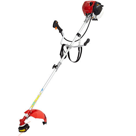 Petrol Power Grass Trimmer Brush Cutter Heavy Duty