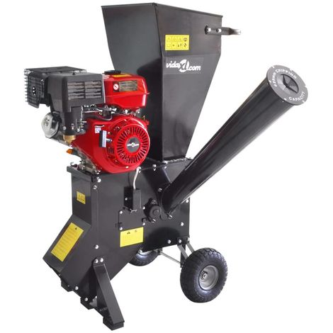 Petrol-powered Wood Chipper with 13 HP Motor VD04150