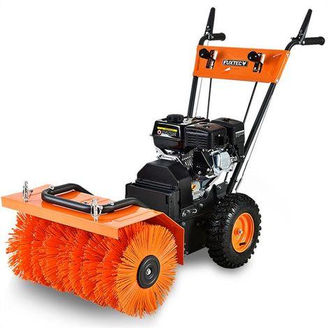 Petrol sweeper/snow plough FUXTEC KM196
