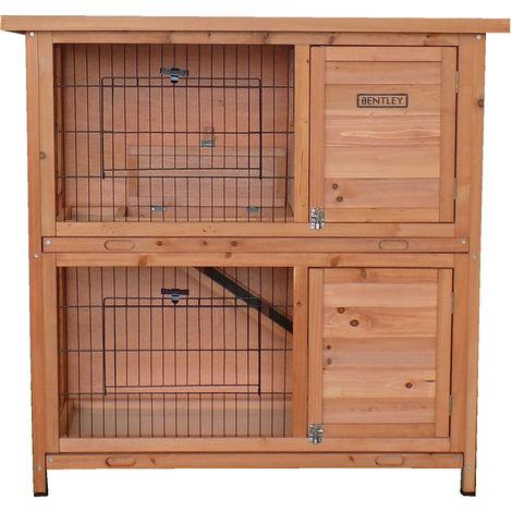 pets - Cage 2 niveaux - animaux domestiques - rampe d'accès - extérieur