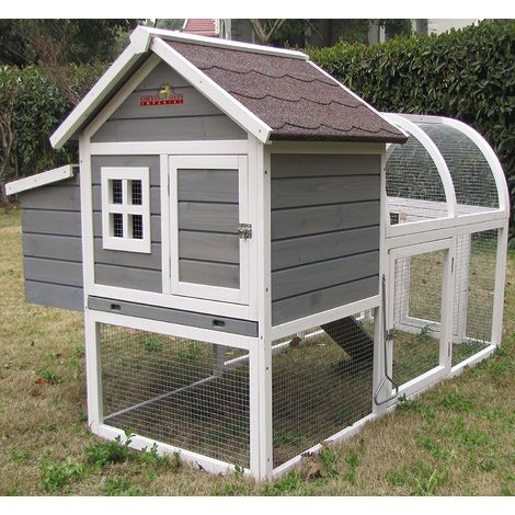 Pets Imperial® Charminster Chicken Coop With Run Suitable For 2/3 Small Birds Depending On Size
