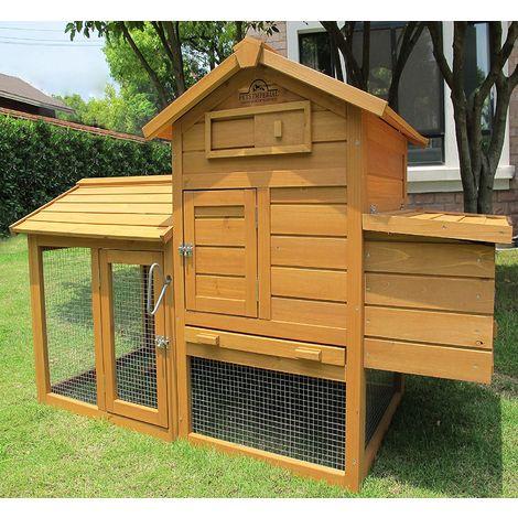 Pets Imperial® Clarence - Poulailler pour 1 – 2 oiseaux, selon leur Taille