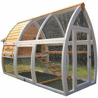 Pets Imperial® Dorchester Chicken Coop Hen House Poultry Nest Box Ark Rabbit Hutch Run