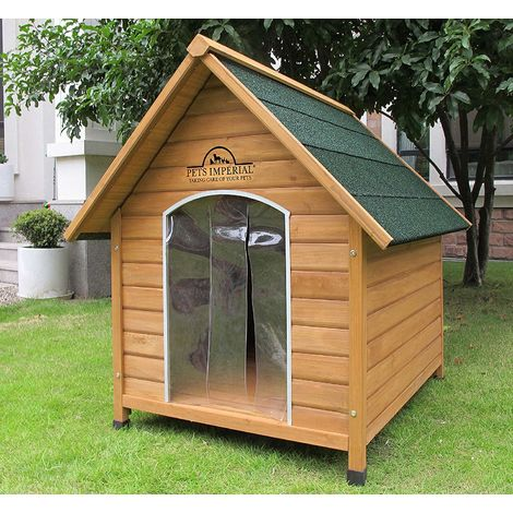 Pets Imperial® Extra Large Wooden Sussex Dog Kennel With Removable Floor For Easy Cleaning