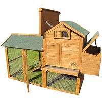 Pets Imperial® Large Kingsbourne Chicken Coop Suitable For Up to 4 Birds Depending on Size B