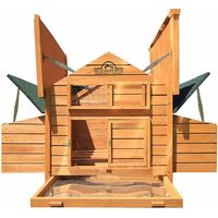 Pets Imperial® Marlborough Large Chicken Coop Suitable 6 to 8 Birds Depending on Size