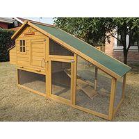 Pets Imperial® Poulailler Sandringham (190 cm)- Jusqu'à 4 Poules - Système De Verrouillage Innovant