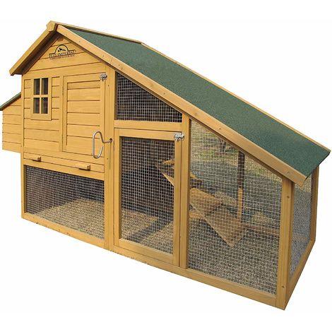 Pets Imperial® - Poulailler Sandringham - Jusqu'À 8 Poules - Système De Verrouillage Innovant