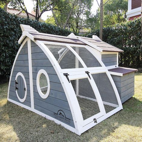 Pets Imperial® Ritz Chicken Coop Hen House Poultry Nest Box Ark Rabbit Hutch Run