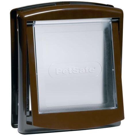 PetSafe 2-Way Pet Door 730 Small 17.8x15.2 cm Brown 5018