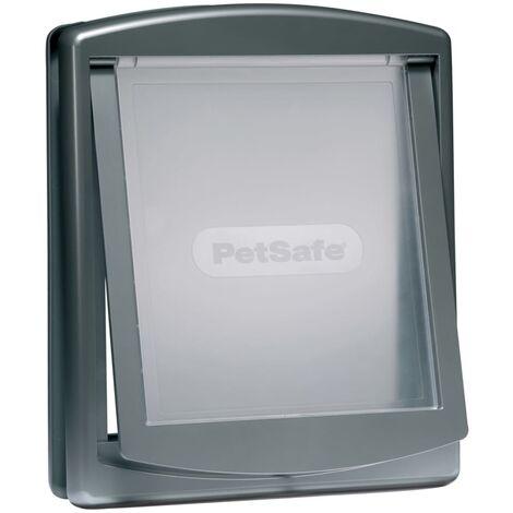 PetSafe 2-Way Pet Door 777 Large 35.6x30.5 cm Silver 5025