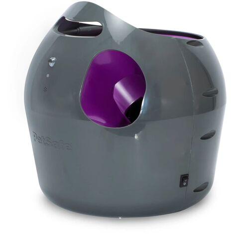 PetSafe Lanzador de pelotas automático 9 m gris y morado PTY00-14665