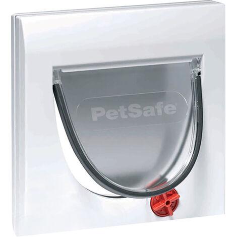 Petsafe Staywell Classic Manual 4 Way Locking Cat Flap (One Size) (White)