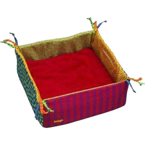 Petstages Snug Spot Microwaveable Fleece Cat Bed (One Size) (Multicoloured)