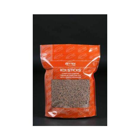 Pettex Orange Koi Sticks 1kg x 4 (49937)