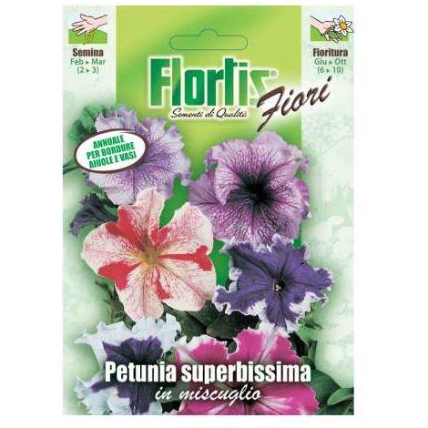 Petunia Superbissima Mix
