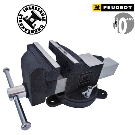 Peugeot - Etau d'établi pivotant 125 mm - EBT 125 - TNT