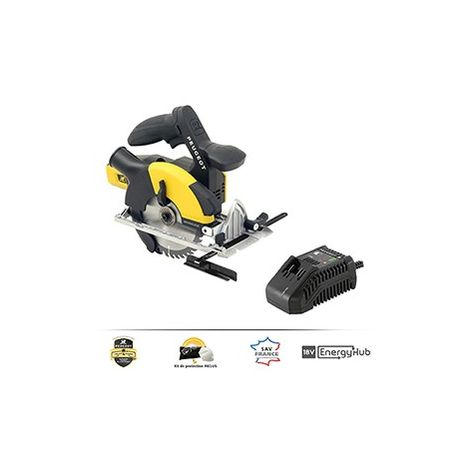 Peugeot SCIE CIRCULAIRE BRUSHLESS 8V 165 MM