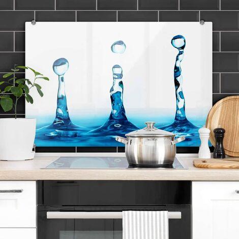Pfannen Spritzschutz Wassertropfen Herd Küchenrückwand