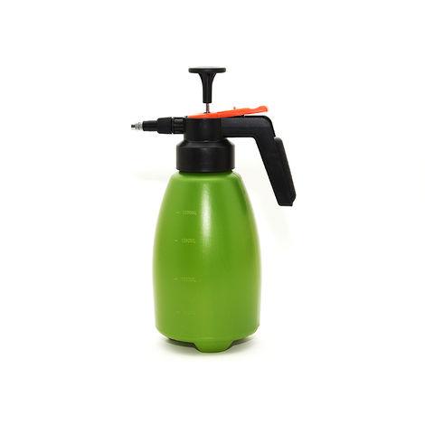 Pflanzen-Drucksprüher, Sprühflasche Zerstäuber 1,8 Liter, grün