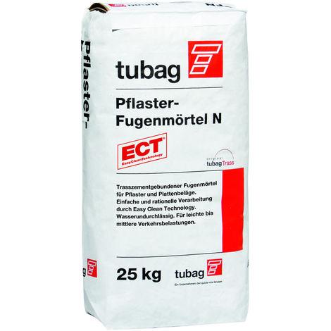 PFN Pflasterfugenmörtel N 25kg, tubag, Trasszement, hellgrau