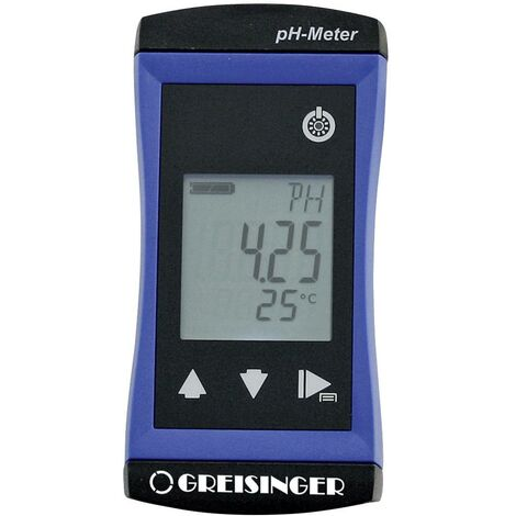pH-mètre Greisinger G1501-GL 479641 pH, température, Redox (ORP) 1 pc(s)