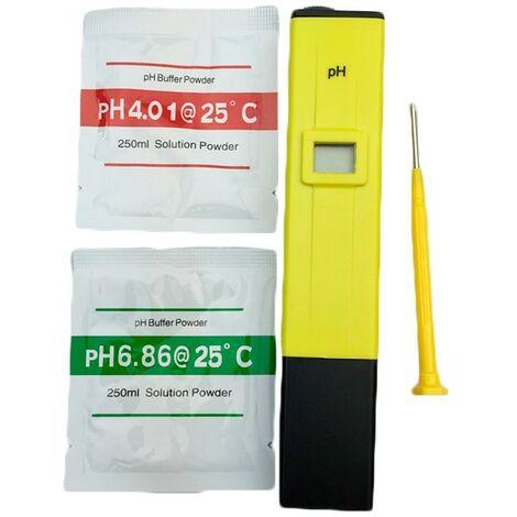 PH mètre numérique de poche à osmoseur, aquarium, piscine, hydroponique