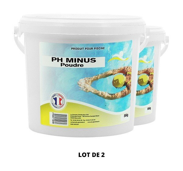 Ph Minus poudre - 2x5kg de pH, TAC - Swimmer