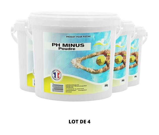 Ph Minus poudre - 4x5kg de Swimmer - pH, TAC