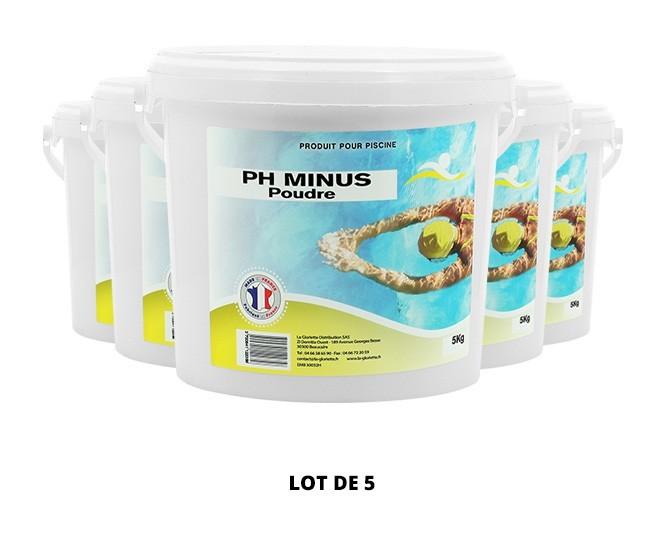 Ph Minus poudre - 5x5kg de pH, TAC - Swimmer