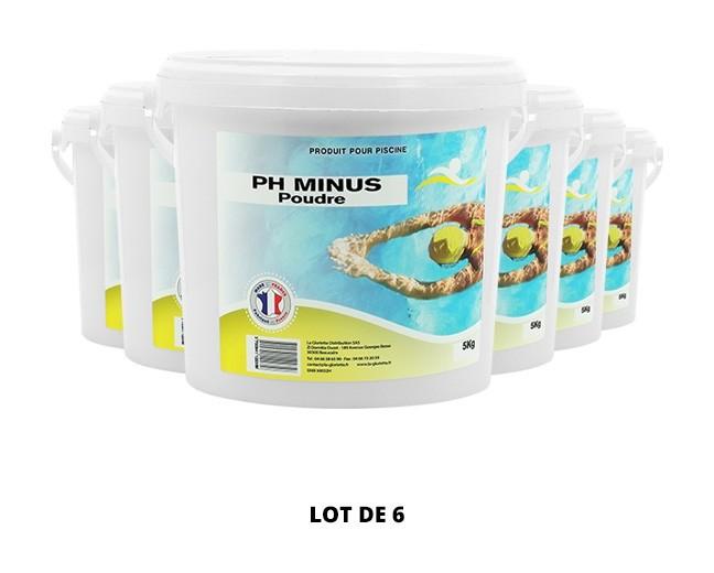 Ph Minus poudre - 6x5kg de pH, TAC - Swimmer